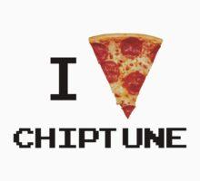 i love chiptune Kids Tee