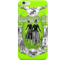 Velocipede club iPhone Case/Skin