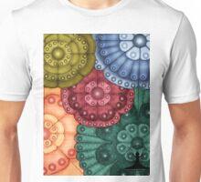 Mythic Fairy Art Floral Design Unisex T-Shirt