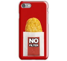 #HashbrownNoFilter iPhone Case/Skin
