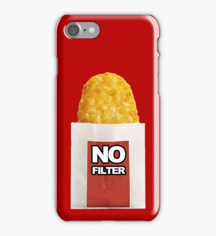 #HashbrownNoFilter iPhone Case/Skin