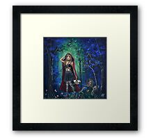 Not Going Where You Think By Sherry Arthur Framed Print