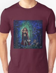 Not Going Where You Think By Sherry Arthur T-Shirt