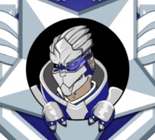 ME3 - Calibrations BLUE Sticker