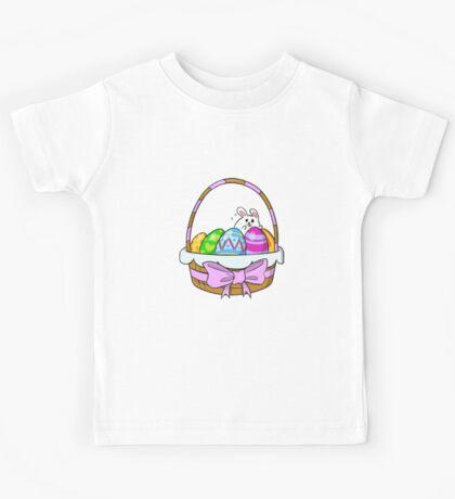 Bunny Basket Kids Tee