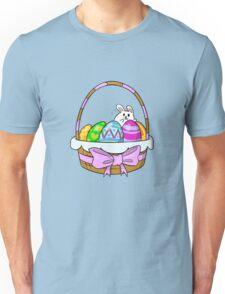 Bunny Basket Unisex T-Shirt
