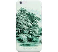 Vintage England Magna Charta Island iPhone Case/Skin