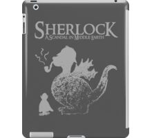 Sherlock: A Scandal in Middle-earth (Grey) iPad Case/Skin