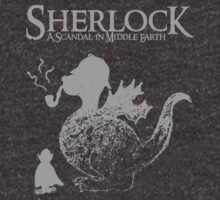 Sherlock: A Scandal in Middle-earth (Grey) T-Shirt