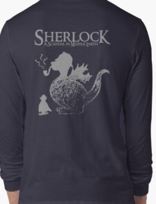 Sherlock: A Scandal in Middle-earth (Grey) Long Sleeve T-Shirt