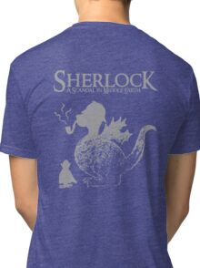 Sherlock: A Scandal in Middle-earth (Grey) Tri-blend T-Shirt