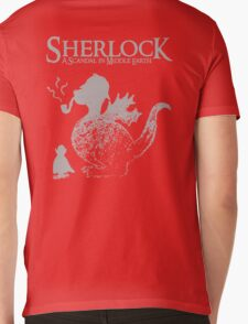 Sherlock: A Scandal in Middle-earth (Grey) Mens V-Neck T-Shirt