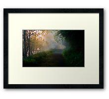 Dawn on the Blackwater Framed Print