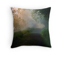Dawn on the Blackwater Throw Pillow