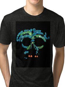Aztec Mask 3 Tri-blend T-Shirt