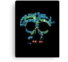 Aztec Mask 3 Canvas Print