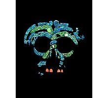 Aztec Mask 3 Photographic Print