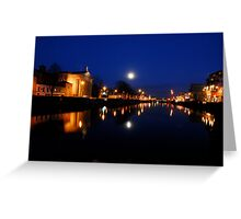 Cork By Night Greeting Card