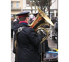 Salvation in the Tuba Photographic Print