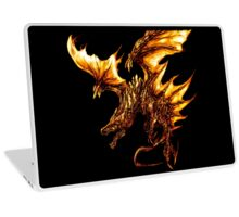 Fiery Molten Burning Dragon Design Laptop Skin