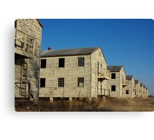 Old Army Barracks Canvas Print