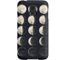 Moon Cycle Samsung Galaxy Case/Skin