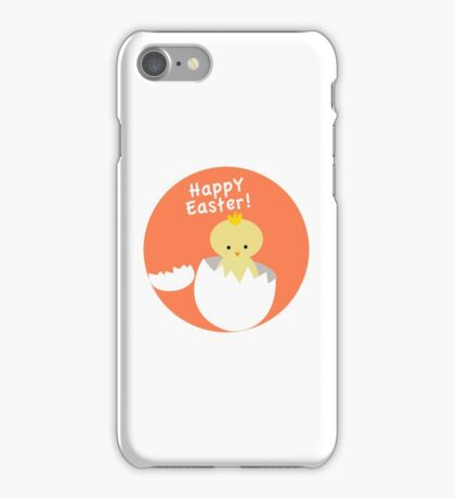 Happy Easter from Chicky! iPhone Case/Skin