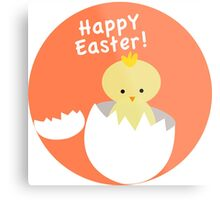 Happy Easter from Chicky! Metal Print