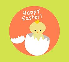 Happy Easter from Chicky! by Radkin