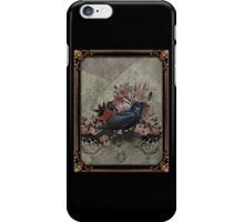 Vintage Goth Crow iPhone Case/Skin