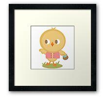 Chick Hunt Framed Print