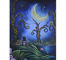 Hanging With The Man In The Moon By Sherry Arthur Photographic Print
