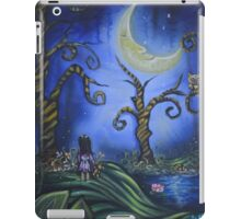 Hanging With The Man In The Moon By Sherry Arthur iPad Case/Skin