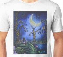 Hanging With The Man In The Moon By Sherry Arthur Unisex T-Shirt