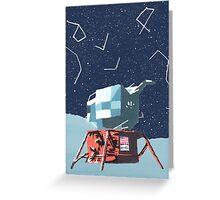 Apollo Moon Landing Greeting Card