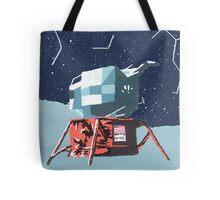 Apollo Moon Landing Tote Bag