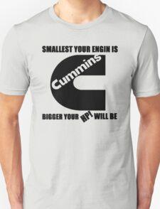 cummins small engine black T-Shirt