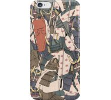 Samurai Ghosts iPhone Case/Skin