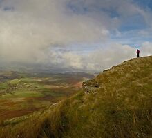 Brecon Beacons Wide View by Nick  Gill
