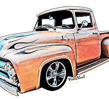 Ford Pickup on White Bread from VivaChas! by ChasSinklier