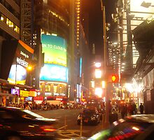 NYC Night by lroof