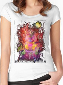 Vivid Dreams Women's Fitted Scoop T-Shirt