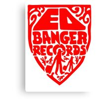 Ed Banger Records - Old Logo Canvas Print