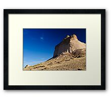 magestic formations Framed Print