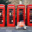 Phone boxes in Cambridge by john0