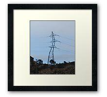 Rather windy Framed Print