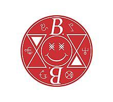 Bromance - Red Logo Photographic Print