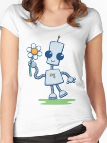 Ned's Flower Women's Fitted Scoop T-Shirt
