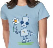 Ned's Flower Womens Fitted T-Shirt