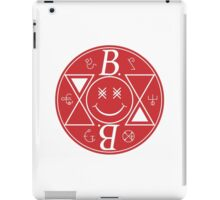 Bromance - Red Logo iPad Case/Skin